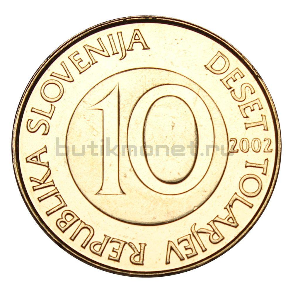 10 толаров 2002 Словения