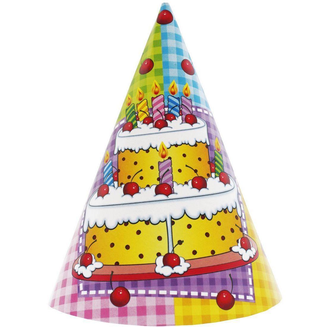 Колпак Торт 6шт