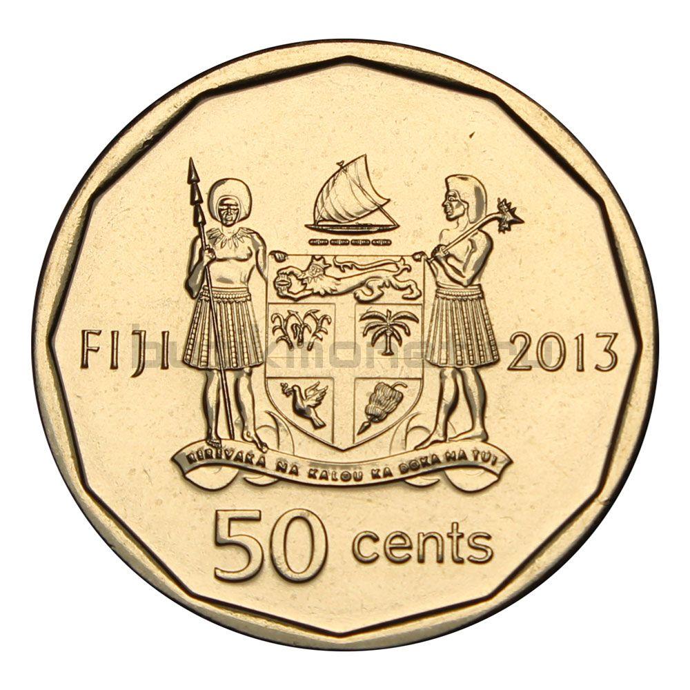 50 центов 2013 Фиджи Паралимпиада 2012 - Илиеза Делана