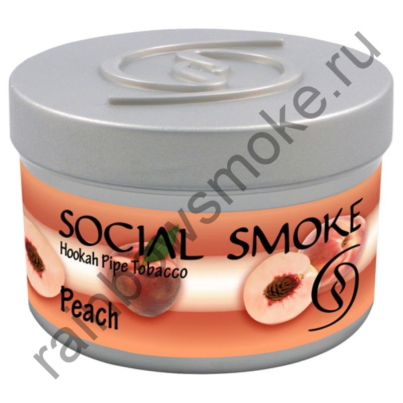 Social Smoke 1 кг - White Peach (Белый Персик)