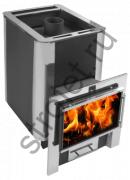 Печь для бани Конвектика ДоброПар Carbon 18 Плазма закр.каменка антрацит
