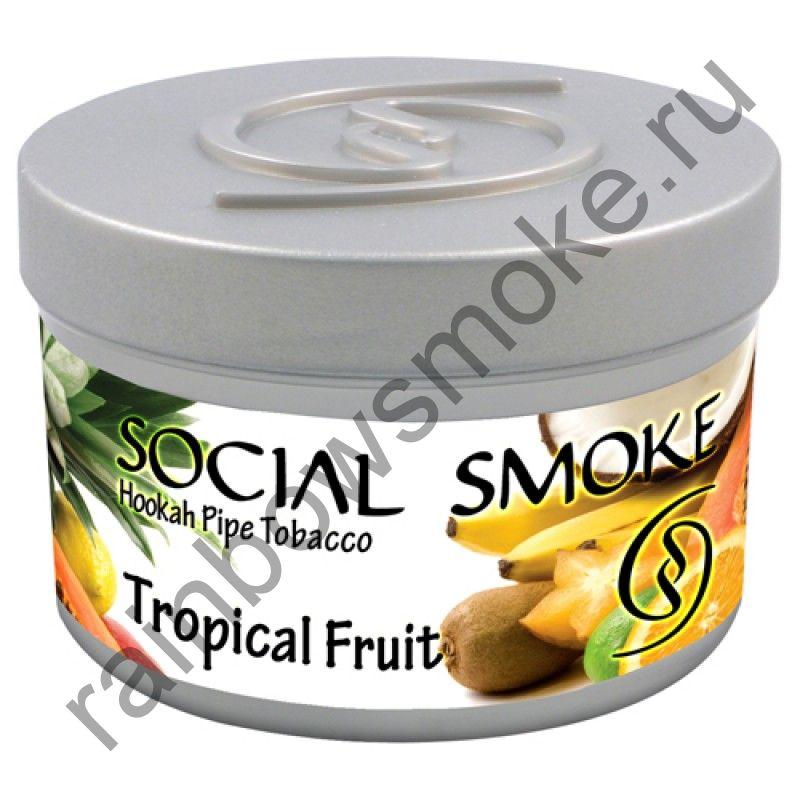 Social Smoke 1 кг - Tropical Fruit (Тропические Фрукты)