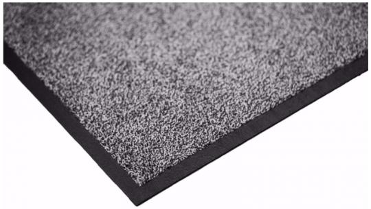 Ковёр каучук асептик 60 х 85 см чёрный жемчуг