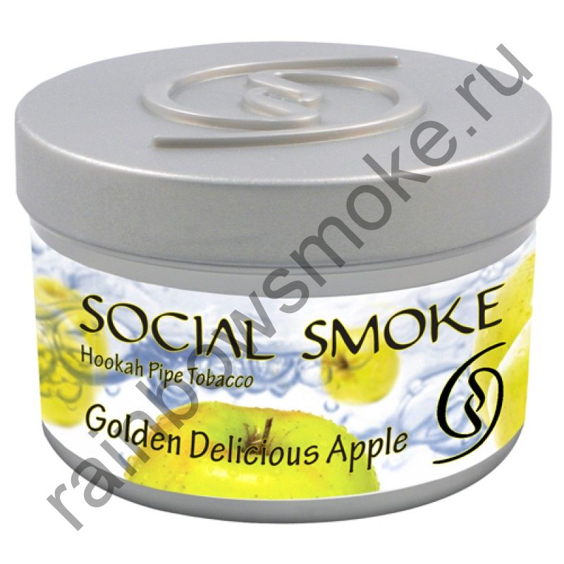 Social Smoke 1 кг - Golden Delicious Apple (Яблоко Гольден)