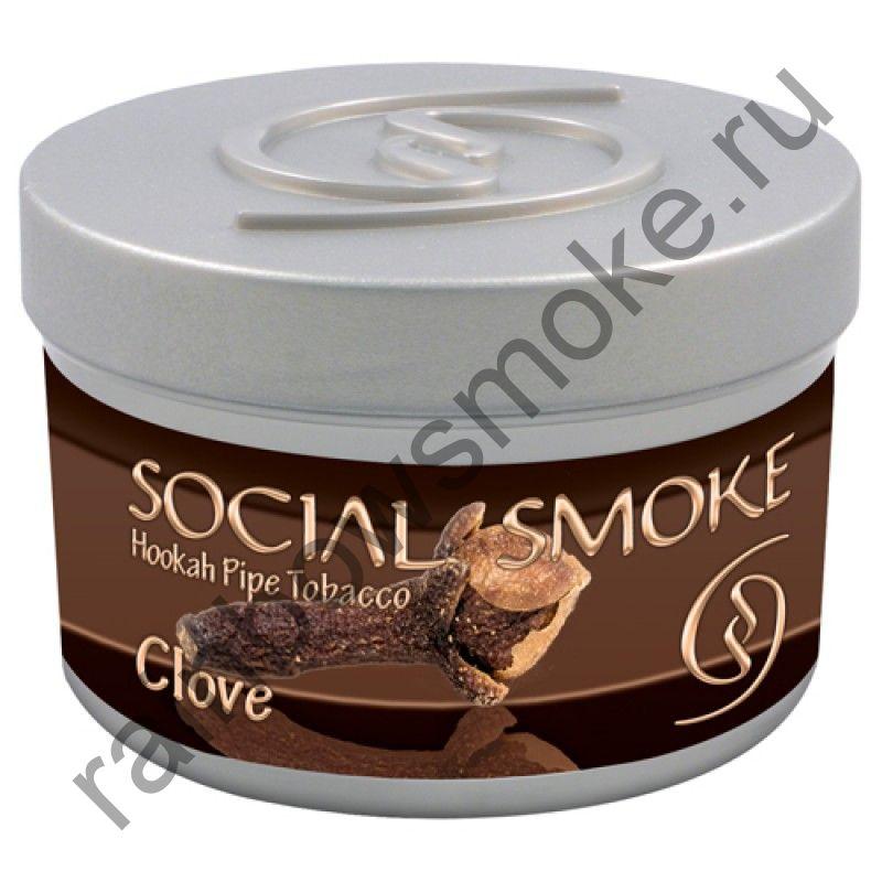Social Smoke 1 кг - Clove (Гвоздика)