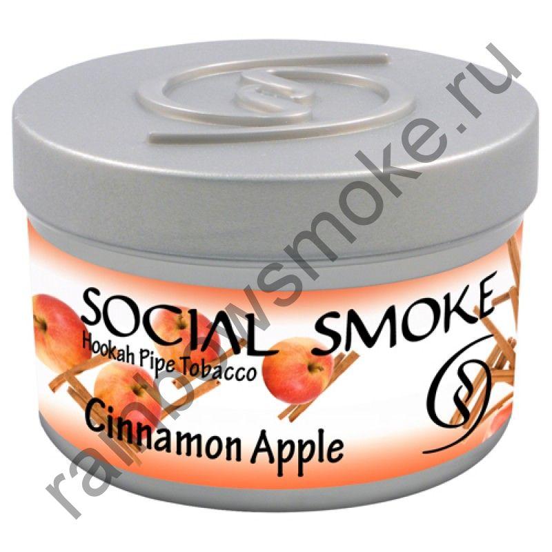 Social Smoke 1 кг - Cinnamon Apple (Яблоко с Корицей)
