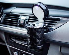 Пепельница в автомобиль с подсветкой