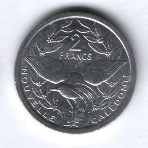2 франка 2005 года Новая Каледония