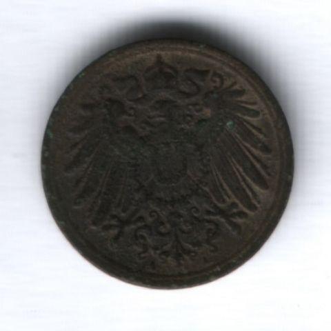 1 пфенниг 1916 года Германия