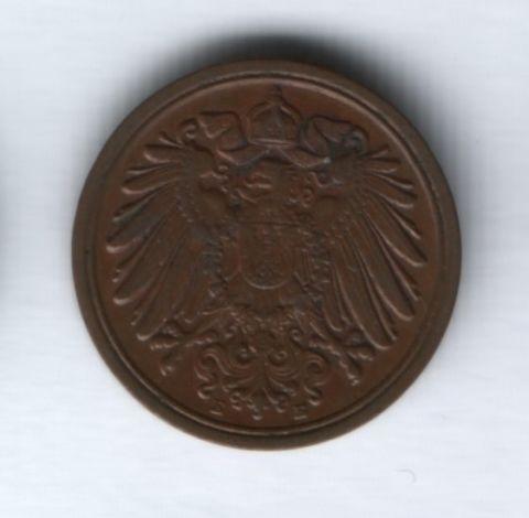 1 пфенниг 1912 года Германия, Е