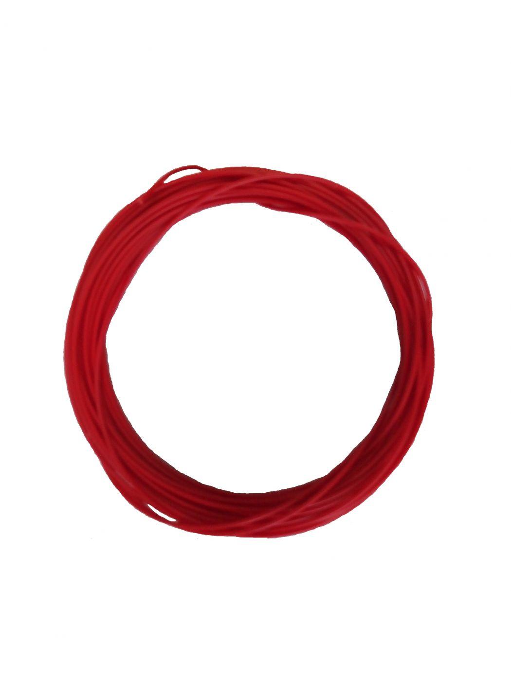 Пластик для 3d ручки ABS красный 10м