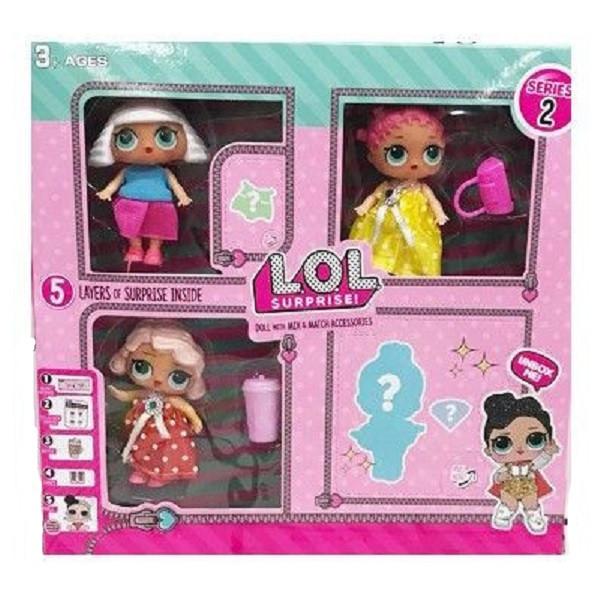 Набор из 4 кукол LOL Surprise