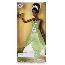 Кукла принцесса Тиана в зеленом платье Дисней 2017