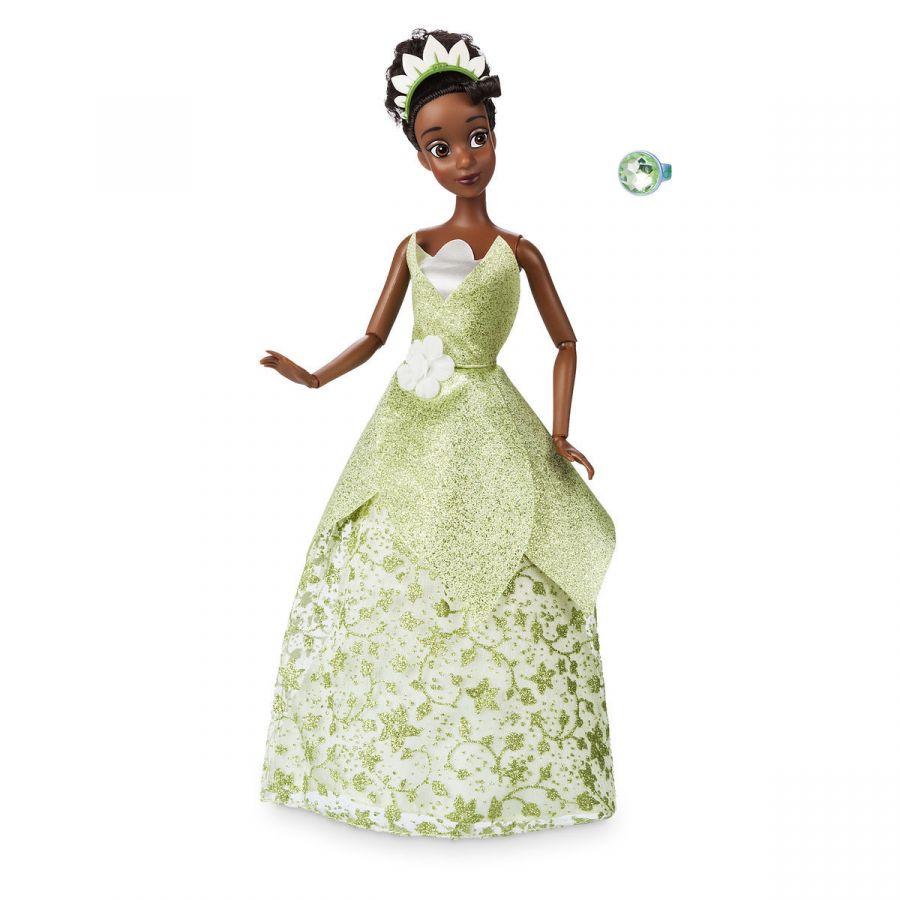 Кукла принцесса Тиана в зеленом платье Дисней 2018