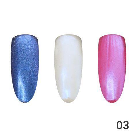 Жемчужная втирка для ногтей, Global Fashion 01 GT03