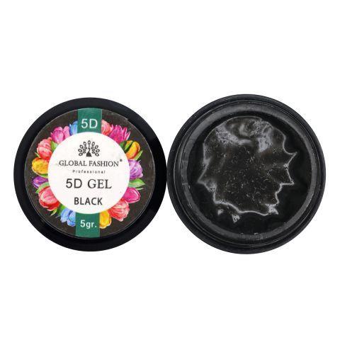 Пластилин 5D ГЛОБАЛ ФЭШН черный
