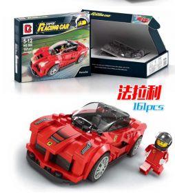 Конструктор Лего автомобиль Speed Champions Феррари 161 деталь