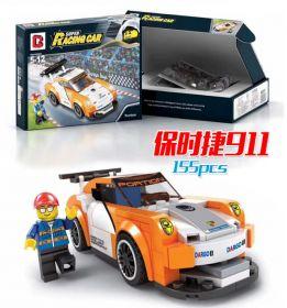 Конструктор Лего автомобиль Speed Champions Порше 911 155 деталей