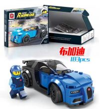 Конструктор Лего автомобиль Speed Champions Бугатти 183 деталей