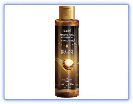 Batel масло-гель для душа для омоложения кожи с макадамией