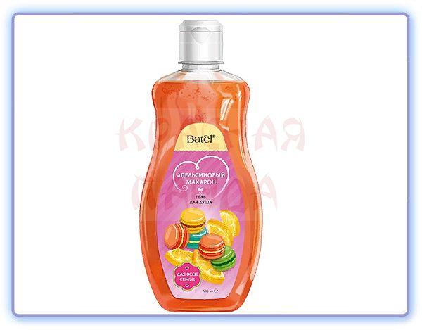 Гель для душа Апельсиновый макарон Batel