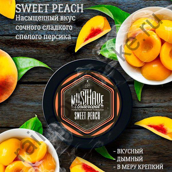 Must Have 125 гр - Sweet Peach (Сладкий персик)
