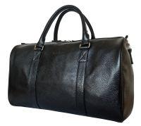 Кожаная дорожная сумка Noffo black