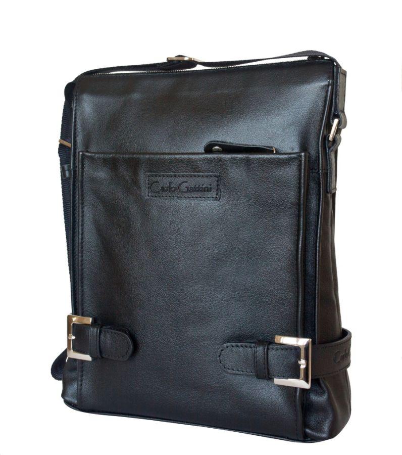 Кожаная мужская сумка Guratti black