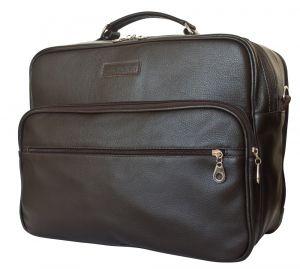 Кожаная мужская сумка Palotto brown