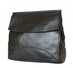 Кожаная женская сумка Rossano black