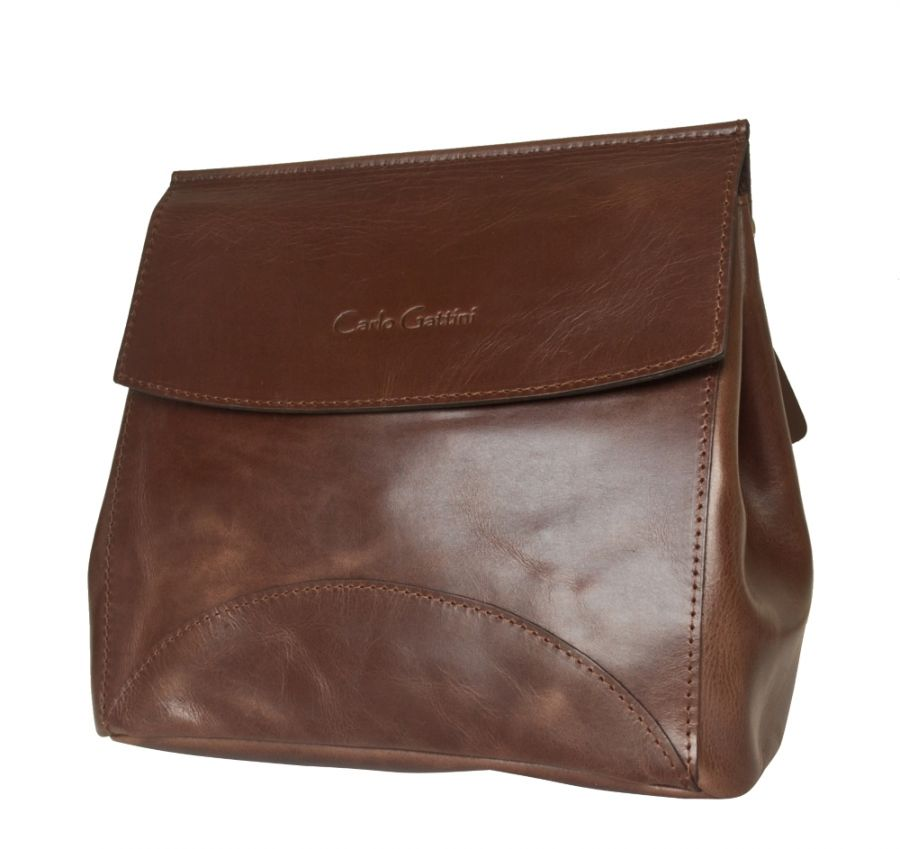 Кожаная женская сумка Rossano brown (арт. 8014-02