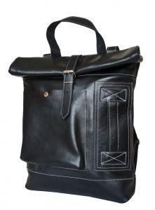 Кожаный рюкзак Arcaro black