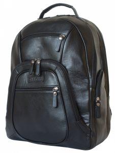 Кожаный рюкзак Gerardo black