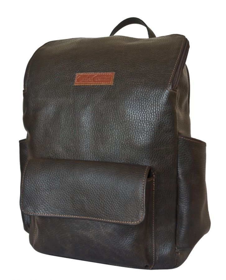 Кожаный рюкзак Tivaro brown
