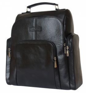 Кожаный рюкзак Volterra black