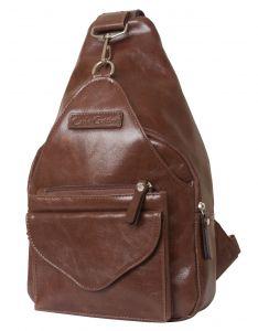 Женский кожаный рюкзак Bevera brown