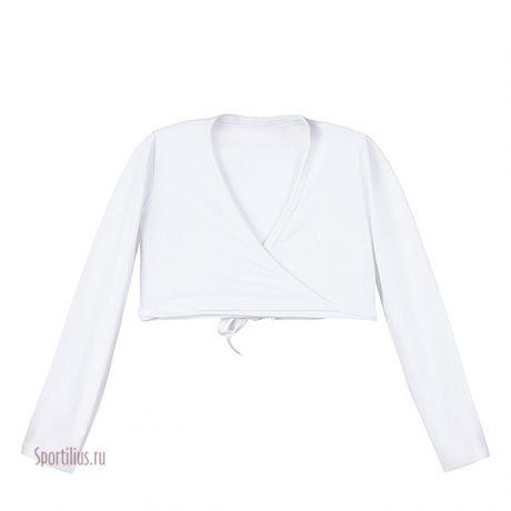Болеро для гимнастики белое