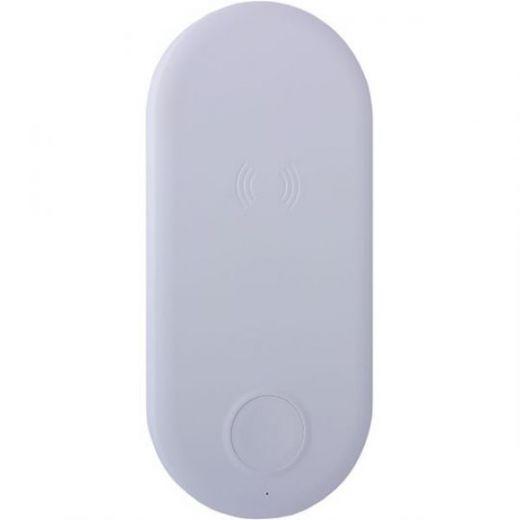 Беспроводное зарядное устройство COTEetCI WS-8 для Apple iPhone и Watch Wireless Fast Charger