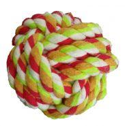 Мяч веревочный разноцветный (5,5 см)