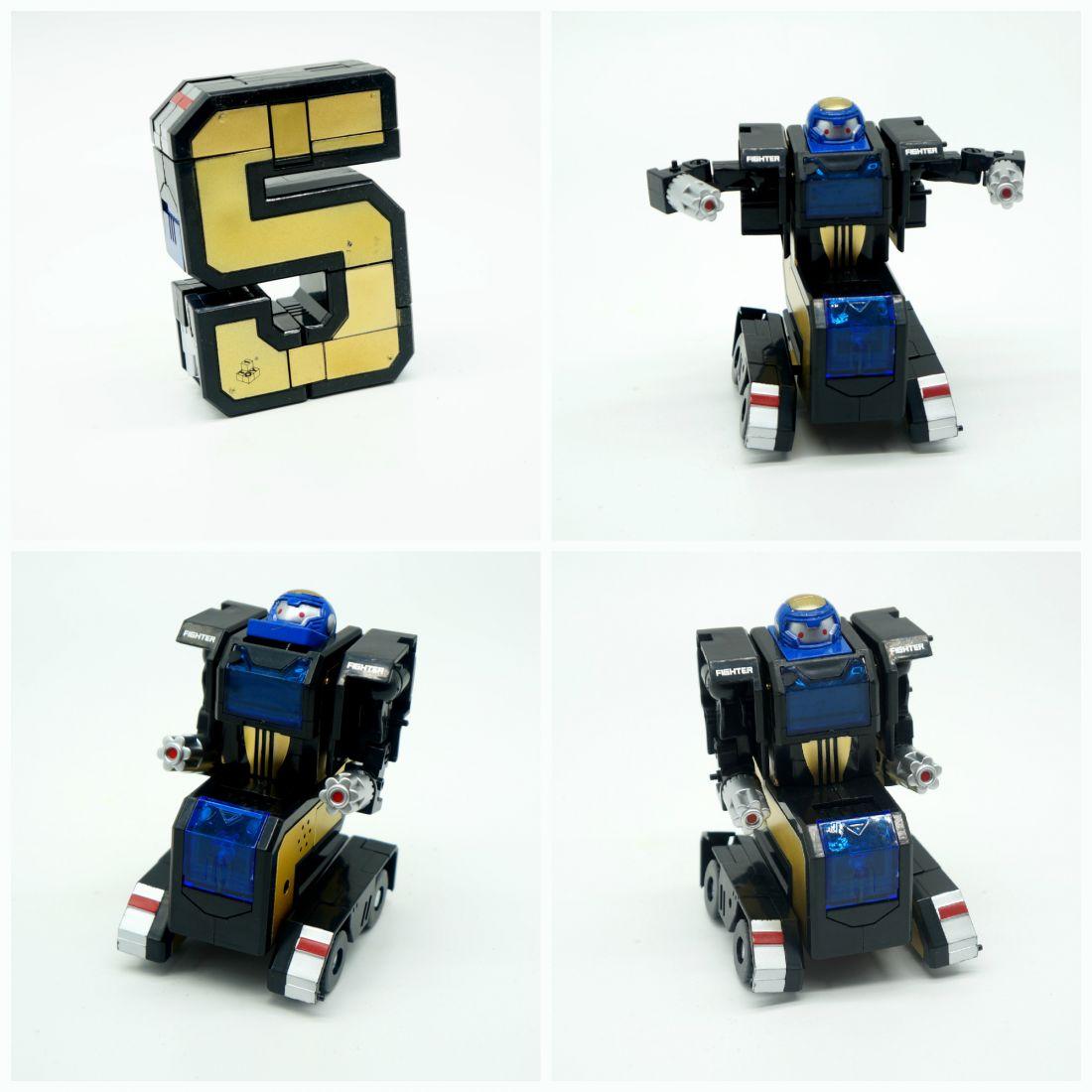 5 Трансбот Боевой Расчет тяжёлый боевой робот на гусеничном ходу Капитан Квинт или цифра пять