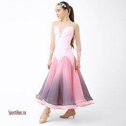 Платье для стандарта розовое