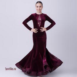 "Платье для танцев стандарт ""Александрия 3"""