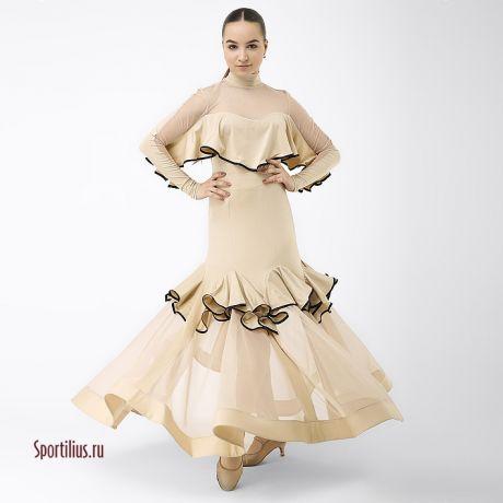 Бальные платья ю1 для стандарта