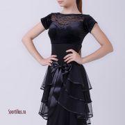 Платье для бальных танцев, стандарт юниоры 1