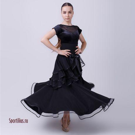 "Платье для танцев стандарт ""Маренго"""