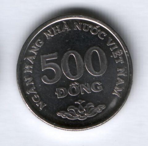 500 донгов 2003 года Вьетнам AUNC