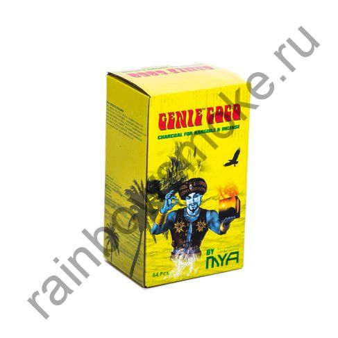 Уголь кокосовый для кальяна Mya Genie Coco (84шт)