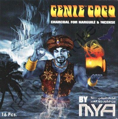 Уголь кокосовый для кальяна Mya Genie Coco 16 синий