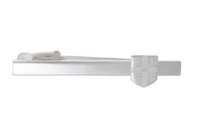 Официальный зажим для галстука  легендарного КЕМБРИДЖСКОГО УНИВЕРСИТЕТА с лазерной гравировкой  -OFFICIAL UNIVERSITY OF CAMBRIDGE LASER ENGRAVED TIE SLIDE