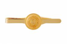 Официальный зажим для галстука  знаменитого ОКСФОРДСКОГО УНИВЕРСИТЕТА с позолотой  -OFFICIAL UNIVERSITY OF OXFORD GILT TIE SLIDE